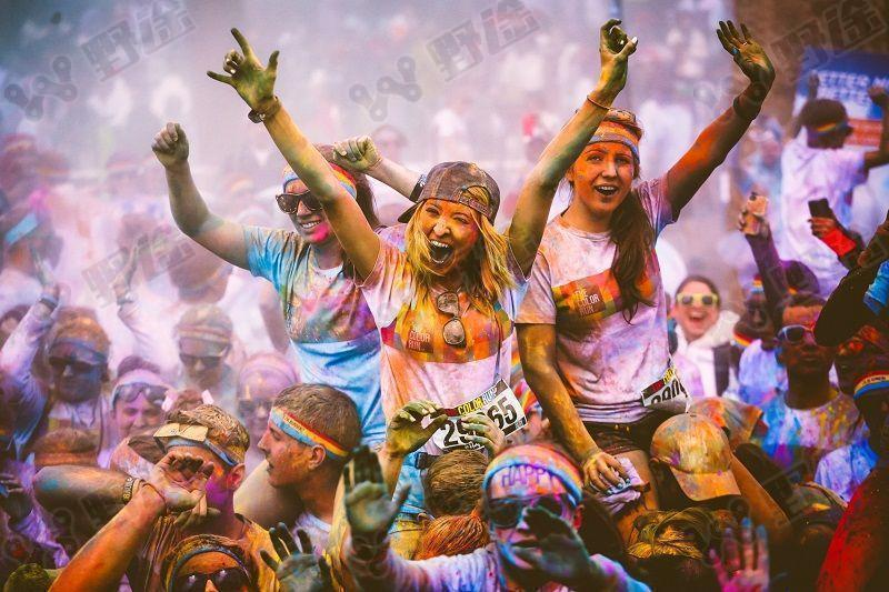 2018 The Color Run 广州站