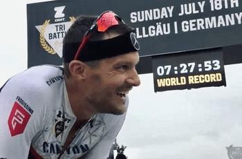 史上首位7.5小时内完赛大铁  前奥运冠军刷新纪录