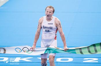 东京奥运会  男子铁人三项 挪威选手终点逆转夺金