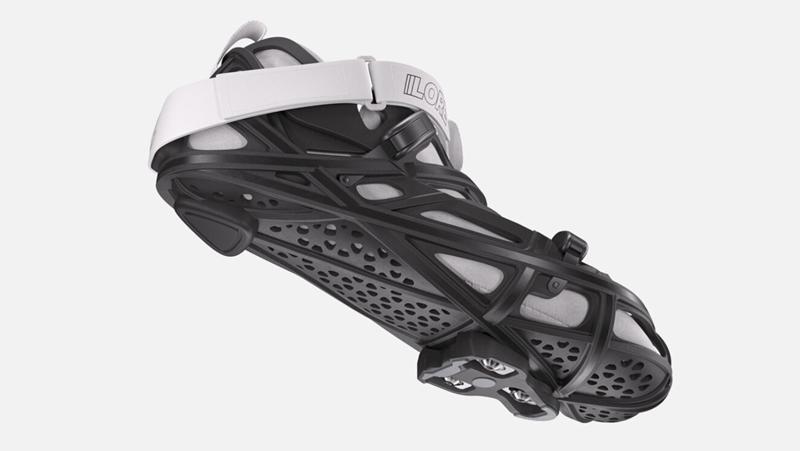 1900美元 首款3D打印定制LoreOne碳纖鎖鞋