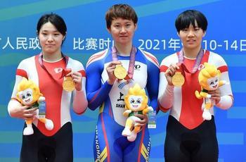 第十四届全运会 | 女子团体竞速赛  钟天使携队友摘金
