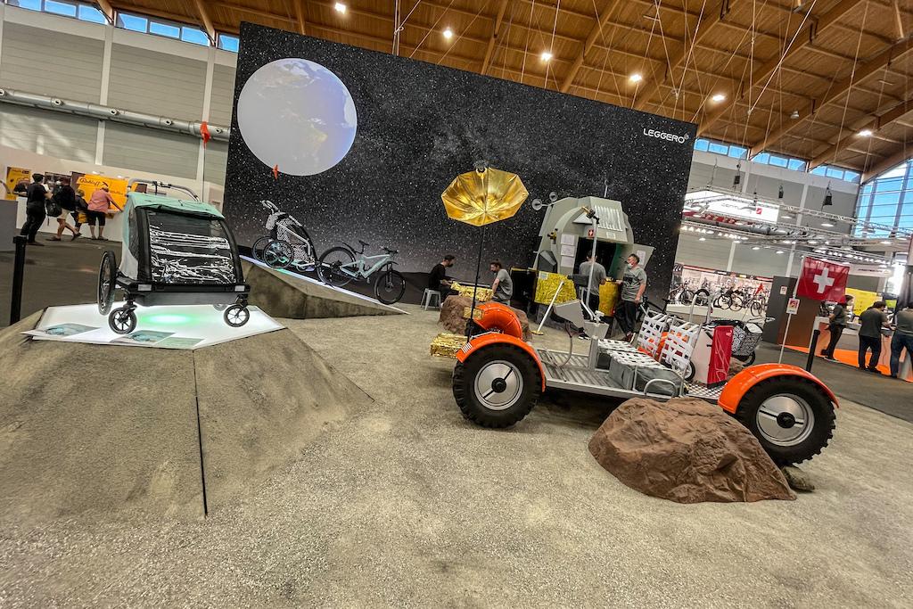 图集 月球自行车 欧洲展上那些奇特产品