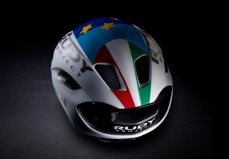 科尔布雷利专属 Rudy推出欧洲冠军版Nytron头盔