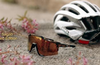 萨甘限量款 100%推出三款黑金系列骑行眼镜