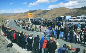 【视频】首届跨喜马拉雅极限赛D2:吐尔松江登顶米拉山口
