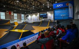 【视频】俄罗斯选手夺魁 国际自盟BMX一级赛中国潜江站
