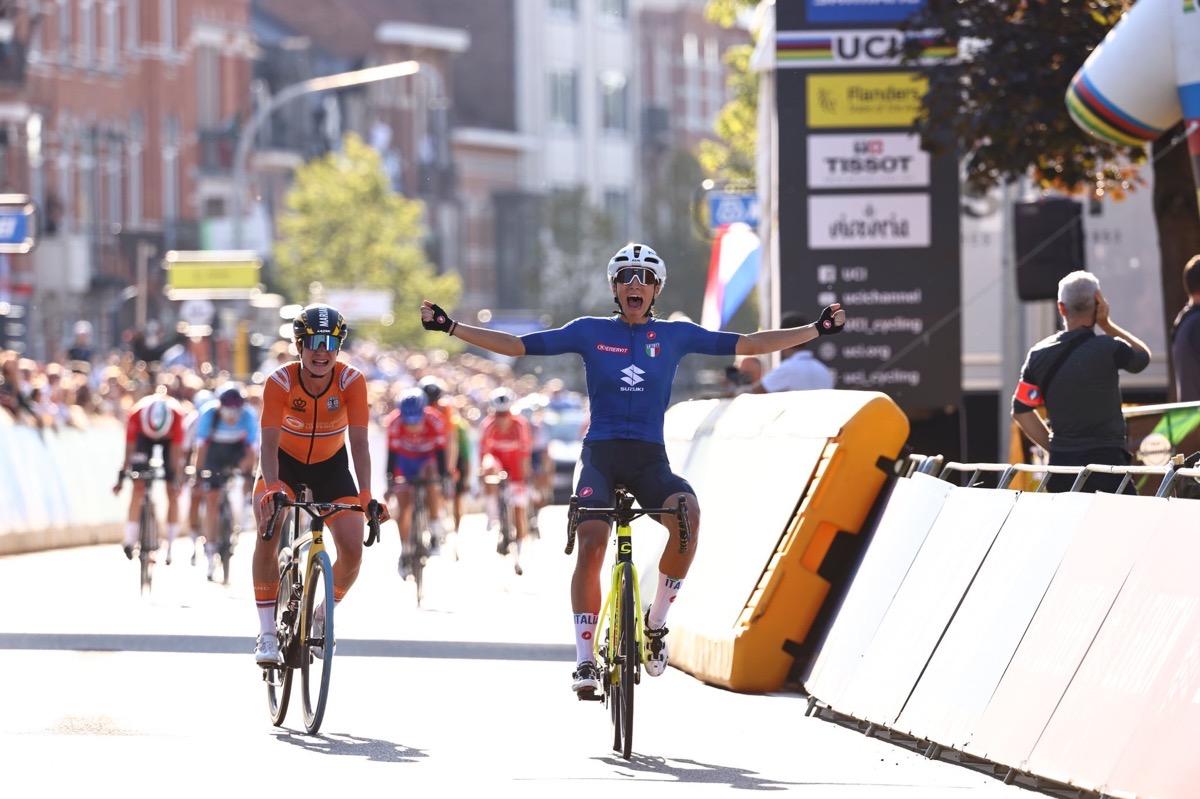 【视频】2021世锦赛 | 荷兰重演奥运失利 意大利称王女子公路